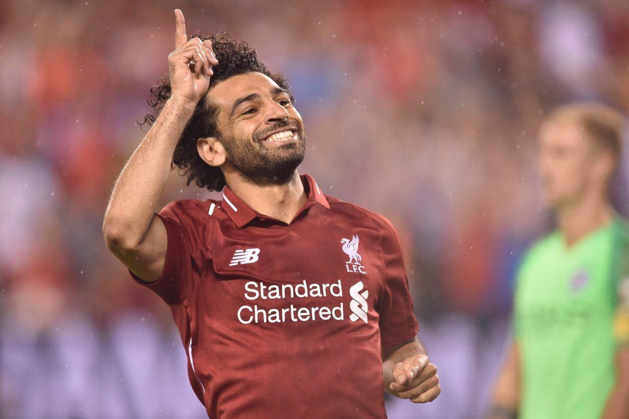 Salah could Rush to become one of the Liverpool greats