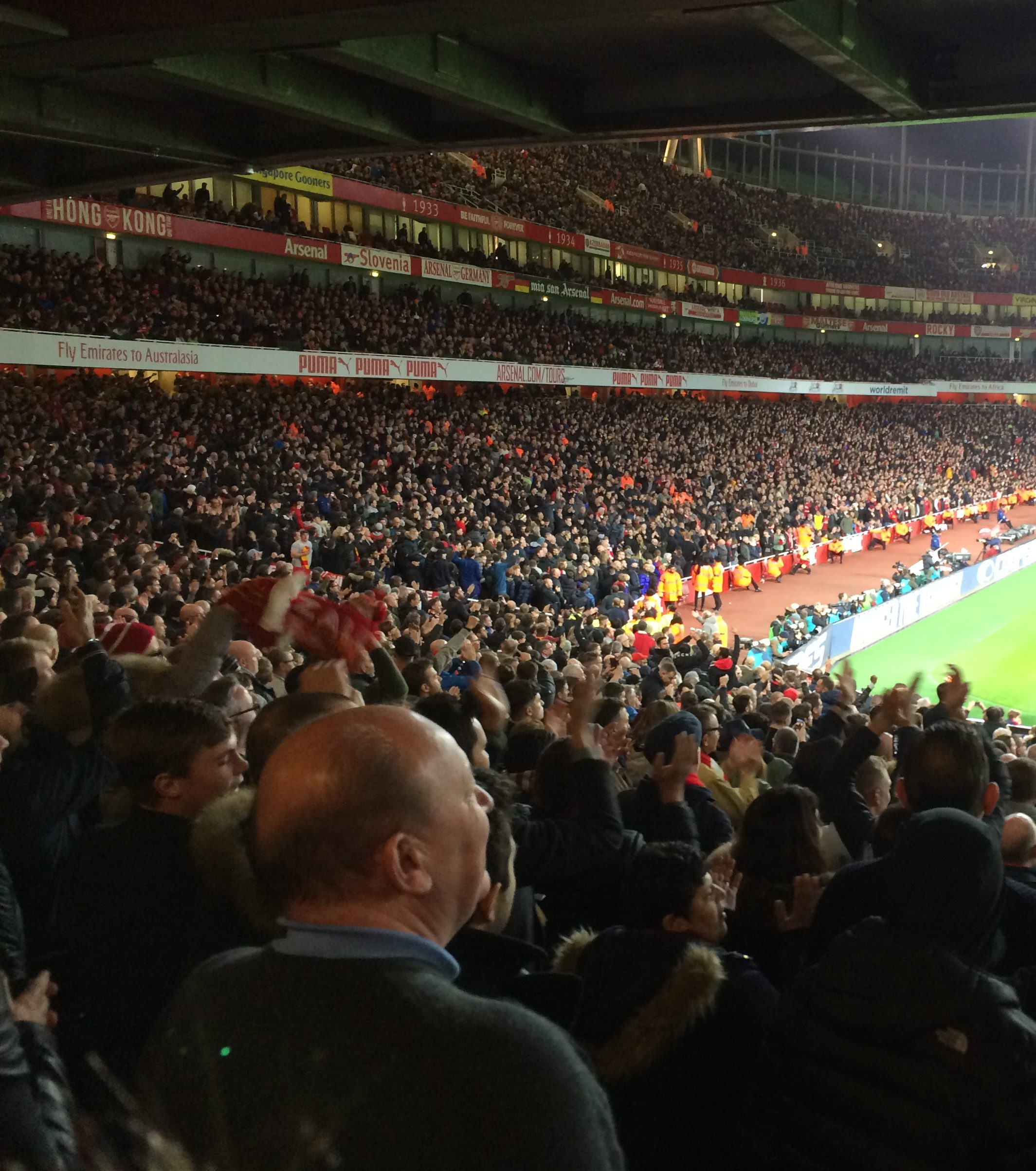 Those Nine Months – Arsenal (Away)