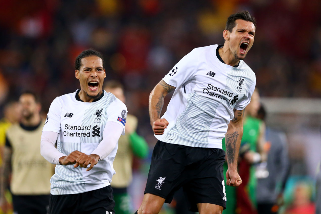Lovren or Matip: who should partner Van Dijk with Gomez out?