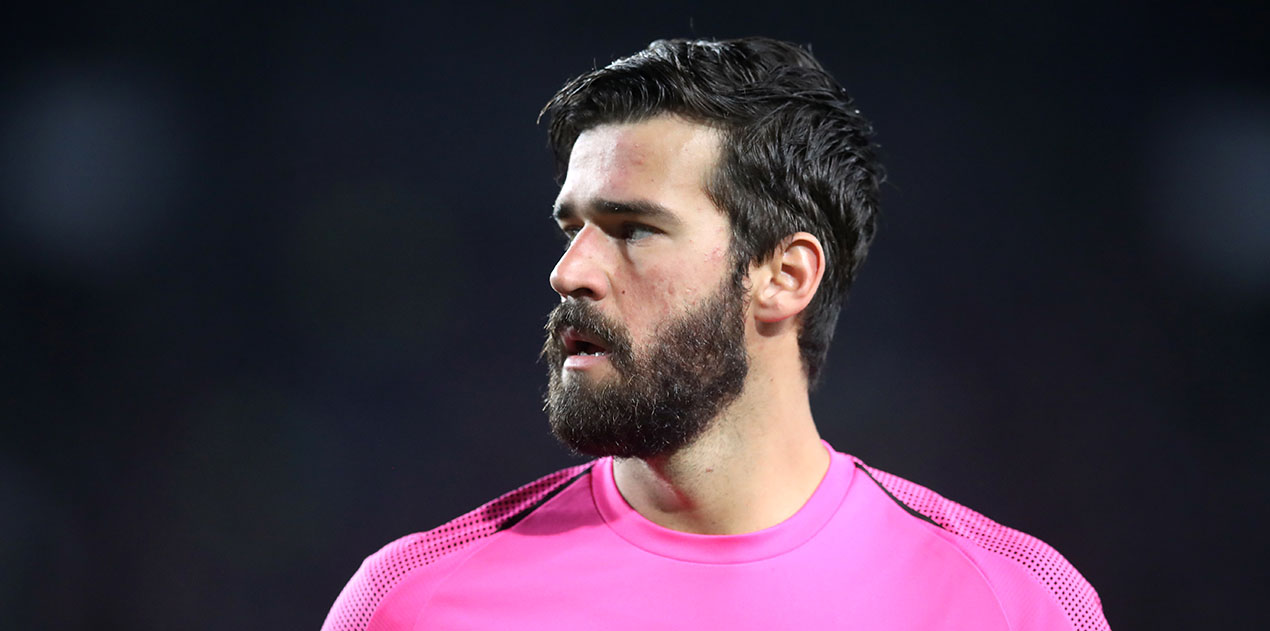 The defining moment of Alisson's 2018/19